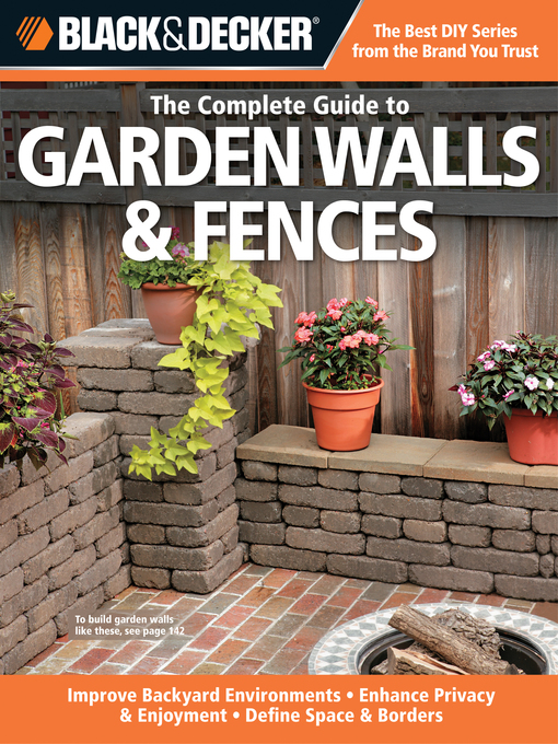 The Complete Guide to Garden Walls & Fences (eBook)